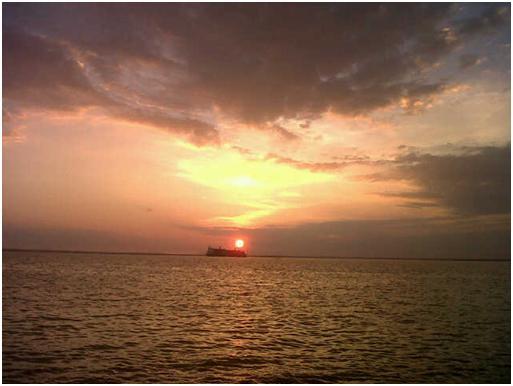 Amanecer en la vereda del lago maracaibo venezuela foto de elizabeth