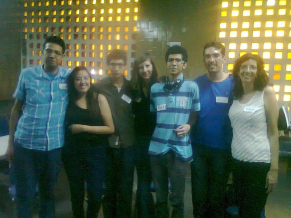 Jóvenes participantes de todo el país en la Asamblea.