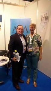 Josefa y el Dr. Josep Blanch
